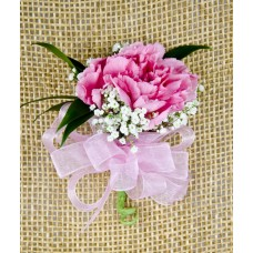 Carnation Corsage Single Pin On