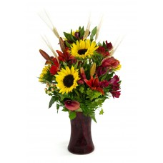Ginger Spice Fall Bouquet