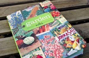 gardening journal or log