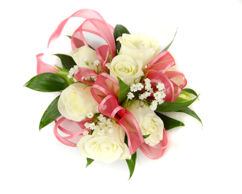 Spray Rose Corsage Wr...