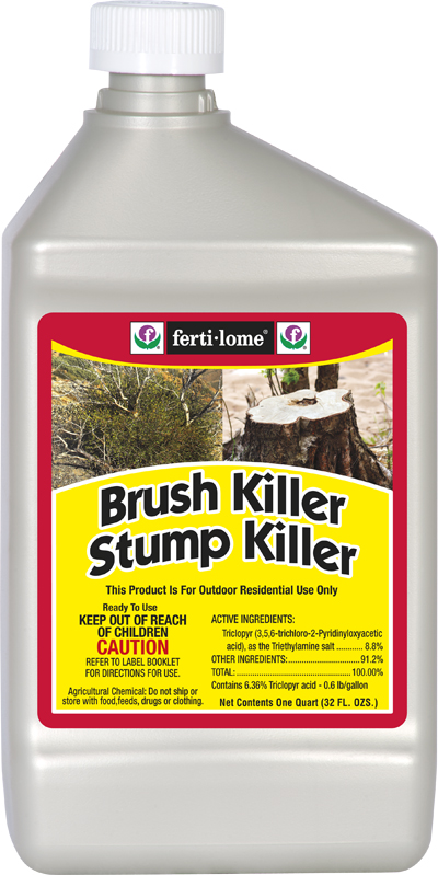 killer stump brush herbicide triclopyr kill poison ivy quart safely chemical chemicals fertilome bes tex into