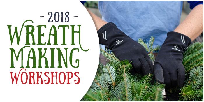 2018 Wreath Making Workshops Banner